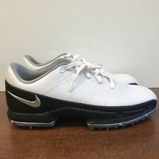 Nike Air Attack Zoom Golf Shoes Black/White 853739-101 Men's Size 10