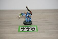 Warhammer 40k Imperial Guard Chaos Cultists Preacher Metal Well Painted LOT 770