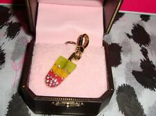 New Juicy Couture Popcicle Charm For Bracelet Necklace Handbag Keychain