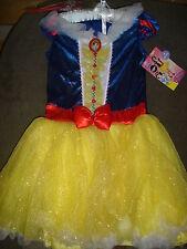 NEW Disney Snow White fancy dress Halloween Costume girls M 8/10 Disguise medium