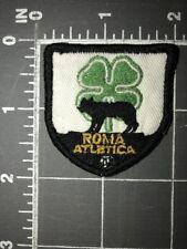 Roma Atletica Patch Shield Dublin Ireland Shamrock Soccer Football Rome Italy