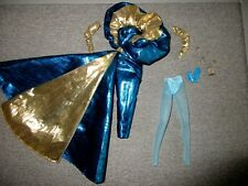 Barbie��Clothes-Carol Spencer-Ball Gown-Wrap-Arm Sleeves Jewelry+ Lot B36