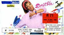 DOROTHEE ZENITH 1986 invitation