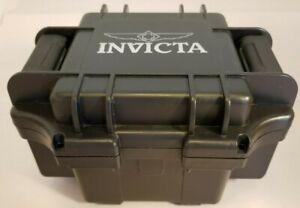 Authentic INVICTA Black One Slot Watch Empty Box Case Collector Diver Case