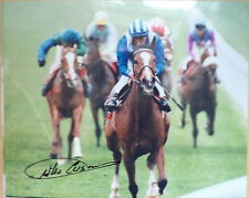 Willie Carson – Original Autographed Horse Racing Photo