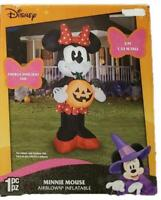 Disney Minnie Mouse LED Airblown Yard Inflatable Gemmy Halloween Pumpkin New!