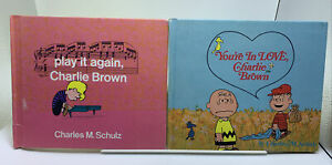Lot: You're In Love Charlie Brown / Play it Again,  Peanuts CHARLES M. SCHULZ