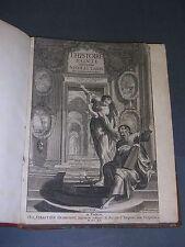 Bible Histoire Sainte R.P. Nicolas Talon 1612 gravure frontispice Huret français