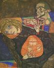 Egon Schiele Holy Family Canvas Print 16 x 20