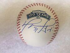 David Ortiz Signed Fenway Park 100 Years Baseball PSA/DNA BOSTON Red Sox