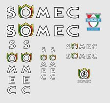 Somec Bicycle Decals, Transfers, Stickers n.2