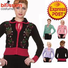 Viscose Floral Regular Size Jumpers & Cardigans for Women