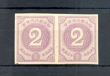 DUTCH WEST INDIES-CURACAO-1889 -2 Ct # 14 -PAIR --PROOF (*) CHOSEN COLOUR VF @2