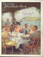 """"""" Das frohe Rheinlieder-Buch """""""