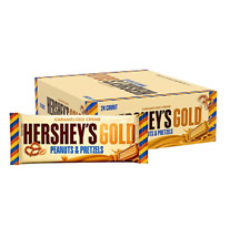 HERSHEY'S GOLD Bar, 1.4 Ounce, (24 Count)