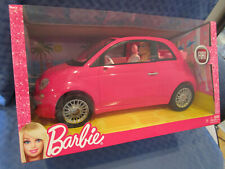 Barbie Fiat 500, Pink Edition, Convertible, 50th Anniversary, Y6857, 2012, NRFB