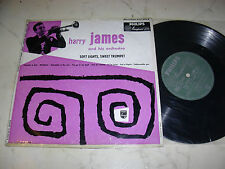 """10"""" Harry JAMES and his Orchestra Soft lights, Sweet Trumpet * RARE 50s Philip"""