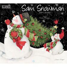 Sam Snowman Wall Calendar, Lang Folk Art by Lang Companies