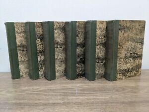 Ernest Thompson Seton 6 Volume Set LIBRARY OF PIONEERING AND WOODCRAFT 1926