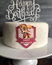 Skye Paw Patrol Cake Topper Edible Icing Sheet
