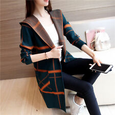 spring autumn Korean fashion temperamen loose cardigan knitting sweater coat