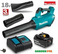 More details for new makita lxt bl 5.0ah 18v cordless blower - dub184rt 0088381887618
