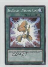 2011 Yu-Gi-Oh! Extreme Victory #EXVC-EN051 The Resolute Meklord Army Card 3c7