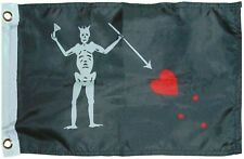 12x18 Pirate Skull and Bones Flag 12'x18' boat car grommets poly