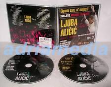 Ljuba alicic 2 CD Live ciganin Sam a najljepsi Sarajevo Bosna HITOVI Srbija Folk
