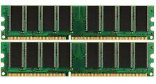 2GB 2 X 1GB PC3200 400MHz DDR PC 3200 2700 2100 MEMORY RAM High Density 400