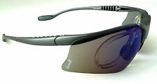 GELSHOCK: Blu Smoke SPORTS Prescription Sunglasses