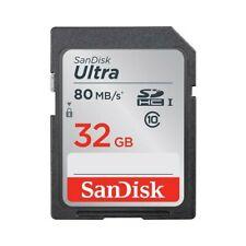 Tarjetas de memoria SD para cámaras de vídeo y fotográficas con 32 GB de almacenamiento