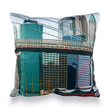 Leslie Gerry - New York Pier 17 Cushion