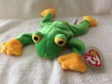 "TY BEANIE BABY ""SMOOCHY"" OCTOBER 1, 1997 - W/HANG PROTECTOR - MINT WITH MINT TAG"
