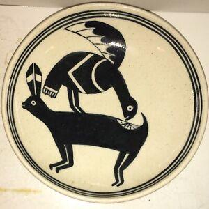 Rare Dan Erhard Bowl COLORADO POTTERY Museum of Western Colorado Art Pottery