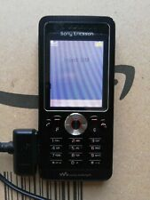 Sony Ericsson Walkman W810i - Black  Mobile Phone