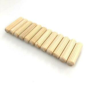 Wooden Dowel Pin Replacements for IKEA 101359 - 12 Pack