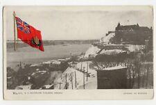Red Ensign Winter QUEBEC City QC Canada 1905-13 MacFarlane Patriotic 876