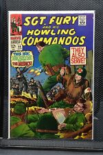 Sgt Fury and His Howling Commandos #46 Marvel Silver Age Comic 1967 Stan Lee 4.5