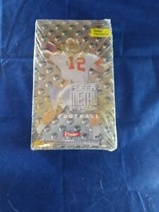 Sealed 1996 Metal Universe Football Hobby Box