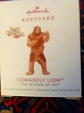 Hallmark 2018 Ltd. Miniature Keepsake Ornament  Cowardly Lion The Wizard of Oz