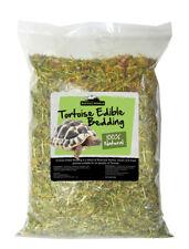 More details for reptile world tortoise edible bedding 10 litre - botanical leaves, flowers grass