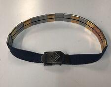 CUB Scout Belt and 17 Belt Slide Metal Award Merit Achievement Badges