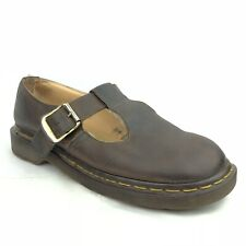Dr. Martens Doc Maryjane Clogs Buckle Vintage Made In England Women's Size 8