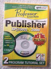 30048 - Professor Teaches Publisher XP 2002 / 2000 [NEW & SEALED] - PC (2003