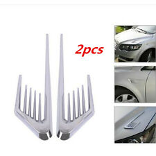 Car Side Air Vent Fender Cover Hole Intake Duct Flow Grille Decoration Sticker