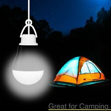 Portable LED Bulb USB Reading Camping Hiking Lamp White Light USB Power