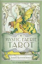 MYSTIC FAERIE TAROT KIT Boxed Fairy Deck Card & Book Set fortune oracle cards