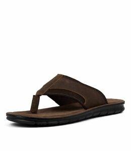 Colorado Men's LAOS Brown Leather Sandals Size  US 12 - UK 11 - EU 45