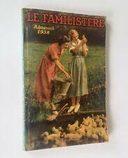Le Familistère. Almanach 1938. Docks rémois